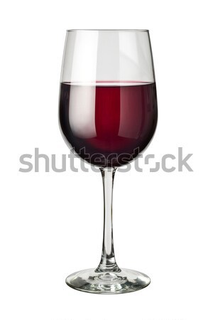 Yalıtılmış cam beyaz şarap restoran Stok fotoğraf © danny_smythe