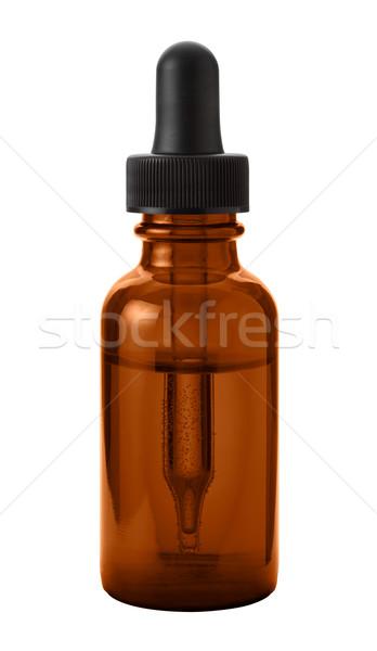 Brown Eye Dropper Bottle  Stock photo © danny_smythe