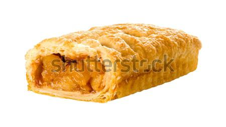 Apple Strudel isolated  Stock photo © danny_smythe