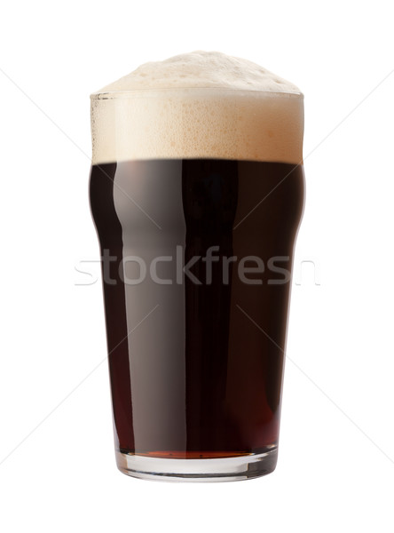 English Stout Isolated with clipping path Stock photo © danny_smythe