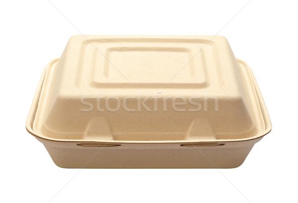 Fora caixa isolado branco Foto stock © danny_smythe