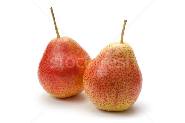 Armut yalıtılmış beyaz gıda meyve taze Stok fotoğraf © danny_smythe