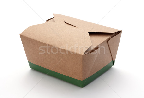 Take Out Box isolated Stock photo © danny_smythe