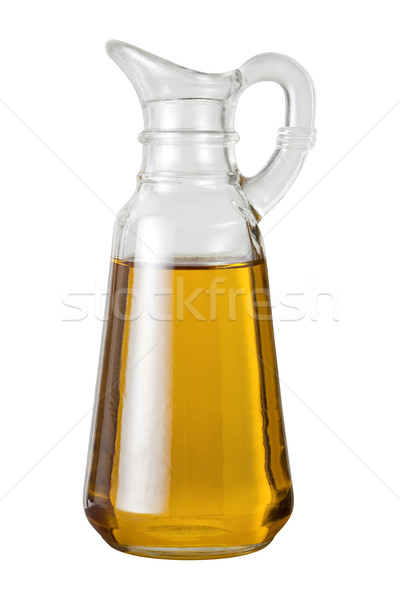 Olive Oil Cruet with a clipping path Stock photo © danny_smythe