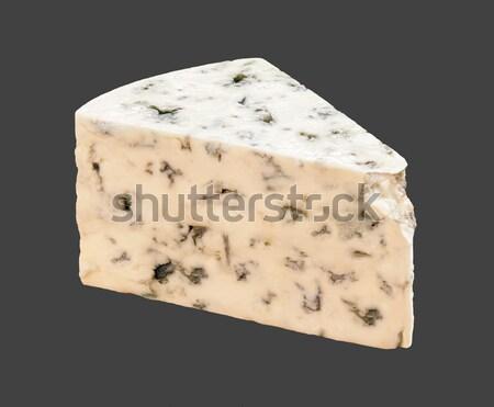 Rokfor karanlık gıda peynir yalıtılmış Stok fotoğraf © danny_smythe