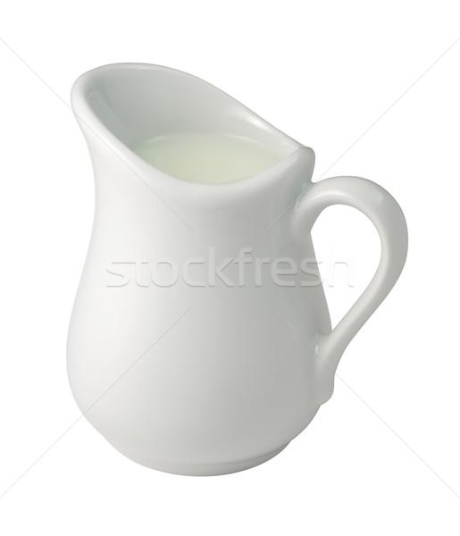 Creme isolado branco líquido objeto Foto stock © danny_smythe