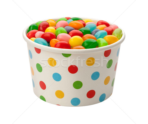 Jellybeans in a Paper Cup Stock photo © danny_smythe