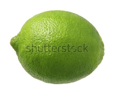 Cal isolado branco fruto verde tropical Foto stock © danny_smythe