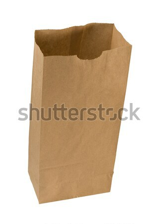 Paper Sack isolated  Stock photo © danny_smythe