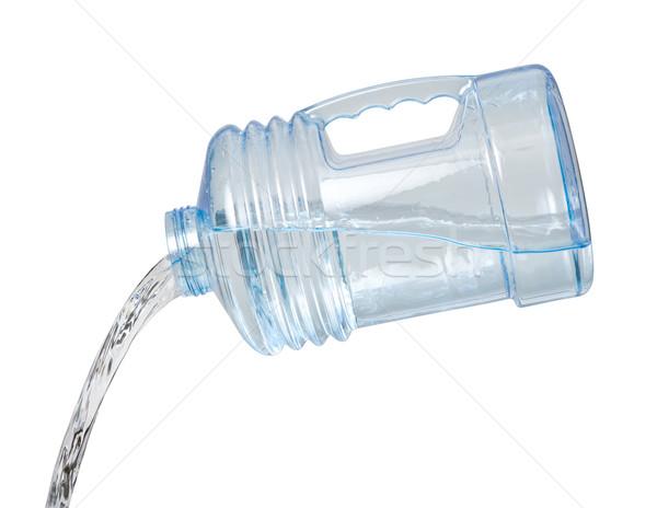 Acqua brocca isolato bianco bottiglia Foto d'archivio © danny_smythe