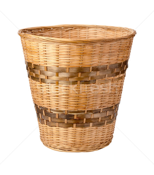 Wastebasket Isolated with clipping path Stock photo © danny_smythe
