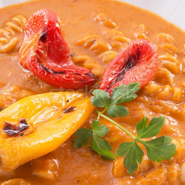 唐辛子 スープ フル 穀物 麺 健康 ストックフォト © Dar1930