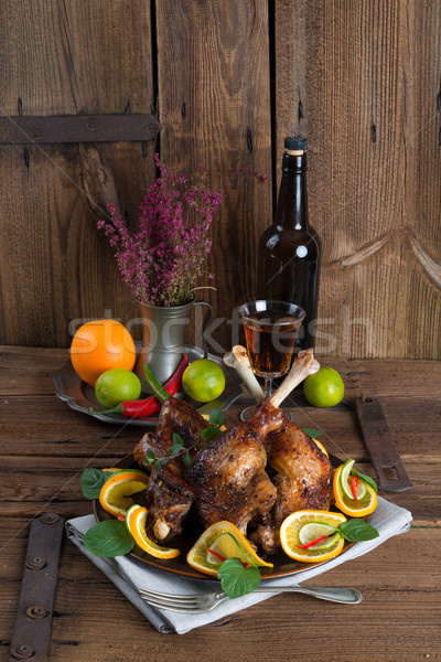 geese meat for St. Martin's Day Stock photo © Dar1930