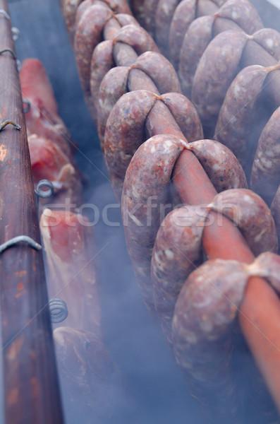 Smoking oven Stock photo © Dar1930