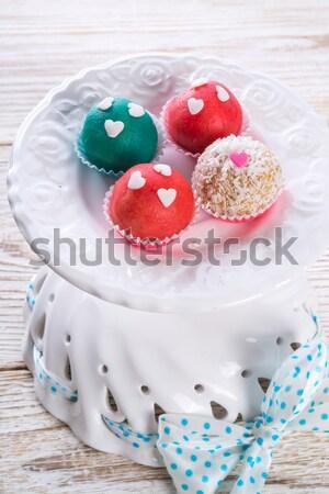 marzipan balls Stock photo © Dar1930