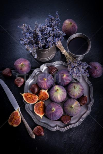 fresh figs Stock photo © Dar1930