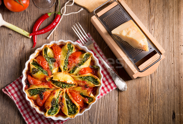 Stock photo: Conchiglioni