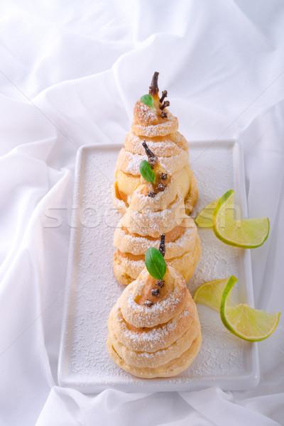 PEAR in pastry Stock photo © Dar1930