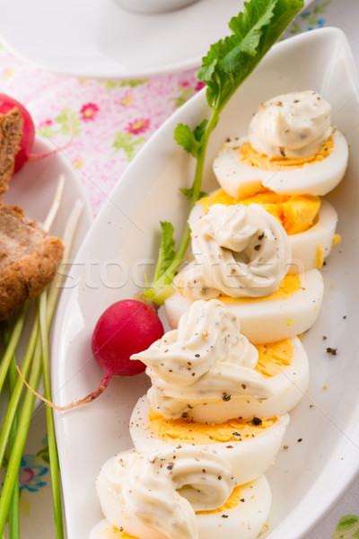 Easter table Stock photo © Dar1930