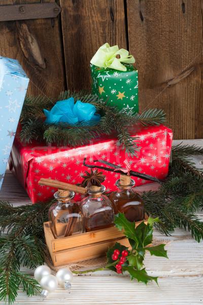Natal delicioso comida festa saúde Foto stock © Dar1930