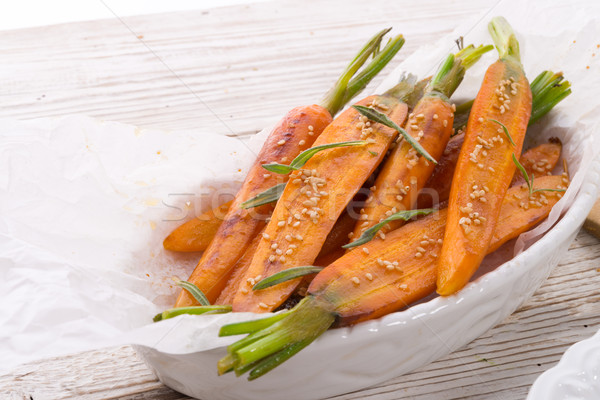 Caramelized carrots Stock photo © Dar1930