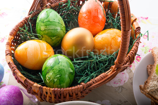 Easter eggs Stock photo © Dar1930