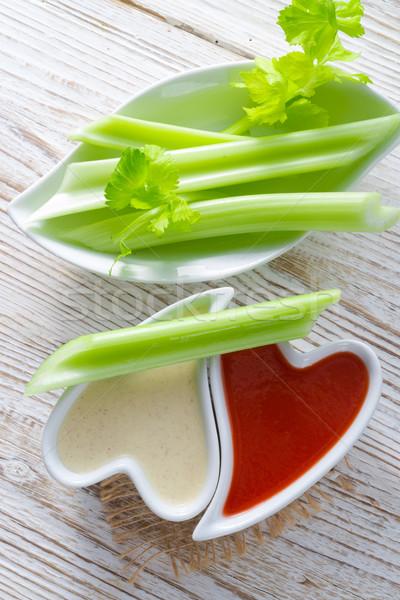Aipo comida festa saúde fundo verde Foto stock © Dar1930
