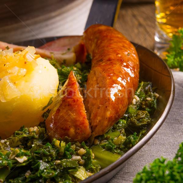 Kale or borecole Stock photo © Dar1930