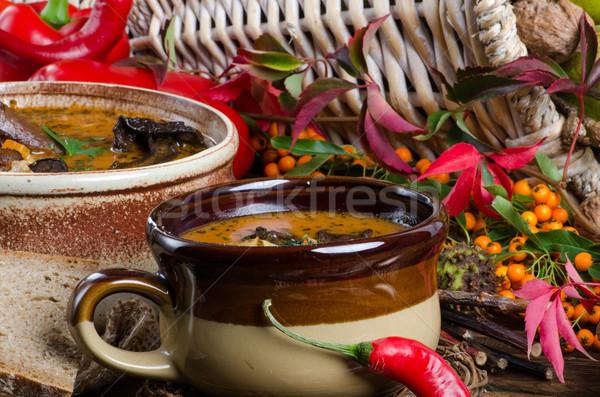 Oxtail soup Stock photo © Dar1930