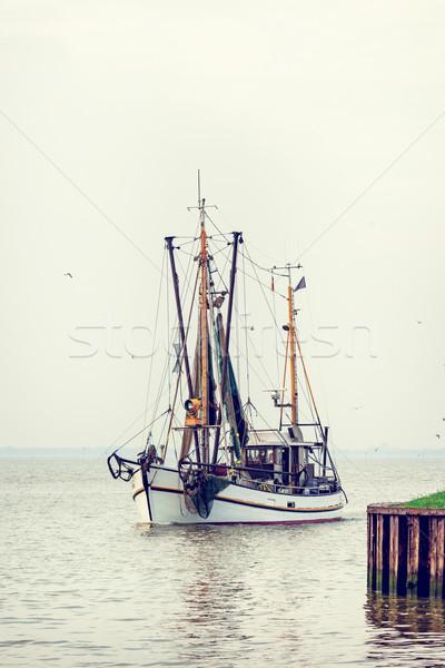 North Sea shrimp boats Stock photo © Dar1930