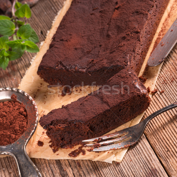 Chocolate brownie Stock photo © Dar1930