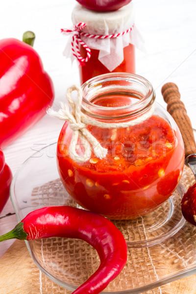 sharp tomatoes paste Stock photo © Dar1930