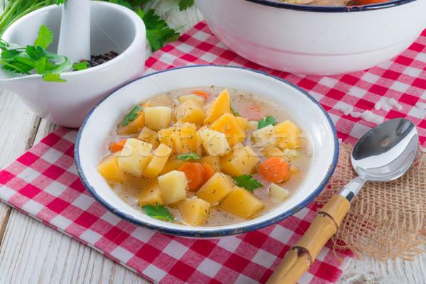 Rutabaga soup Stock photo © Dar1930