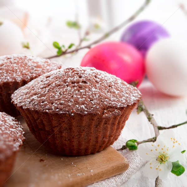 Stok fotoğraf: çiçek · gıda · yumurta · şeker · kahvaltı · tatlı