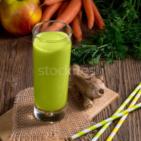 Apio jugo naturaleza hoja frutas Foto stock © Dar1930