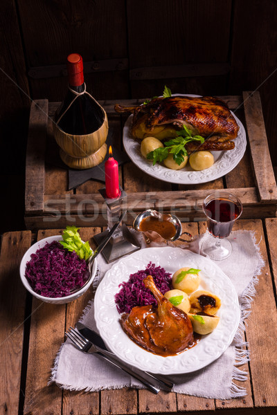 delicious duck Stock photo © Dar1930