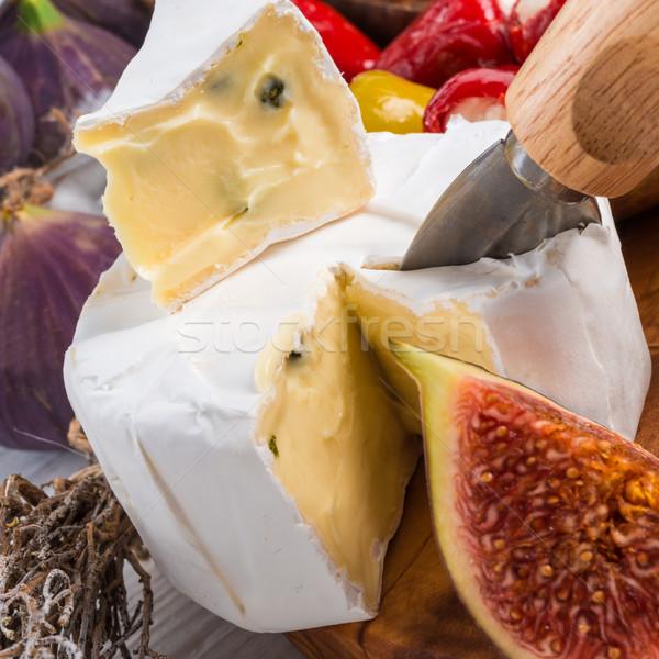 soft cheese antipasti Stock photo © Dar1930