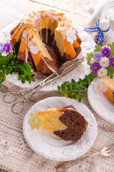 Easter babka Stock photo © Dar1930