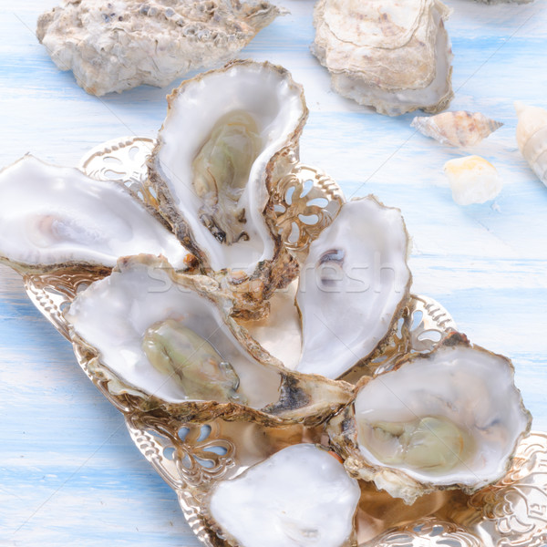 oysters Stock photo © Dar1930