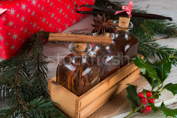 Christmas flavours for delicious pastries  Stock photo © Dar1930