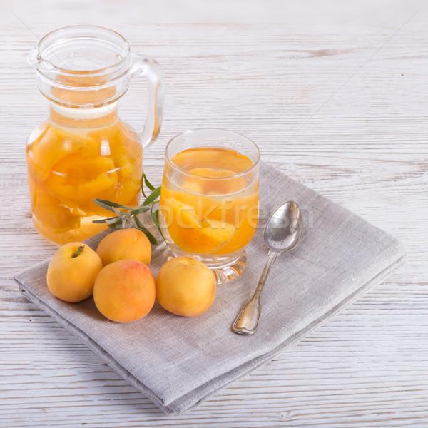 Kompot  - Fruit cocktail Stock photo © Dar1930