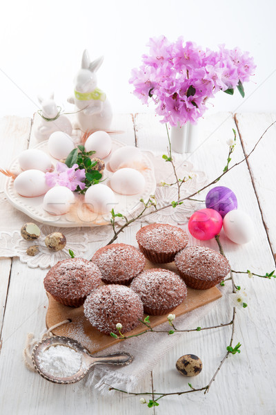 花 食品 卵 キャンディ 朝食 デザート ストックフォト © Dar1930