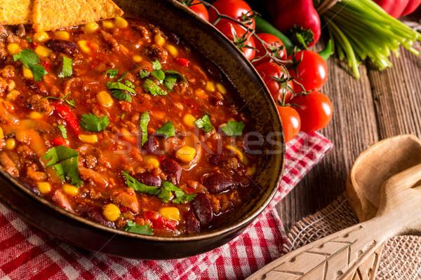 Chili con Carne Stock photo © Dar1930