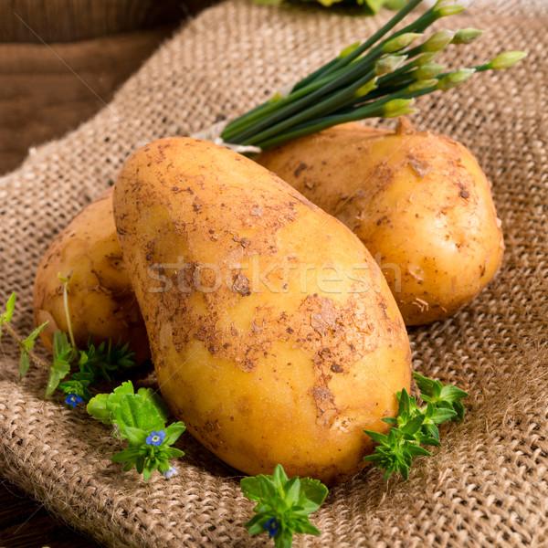 New potatoes Stock photo © Dar1930