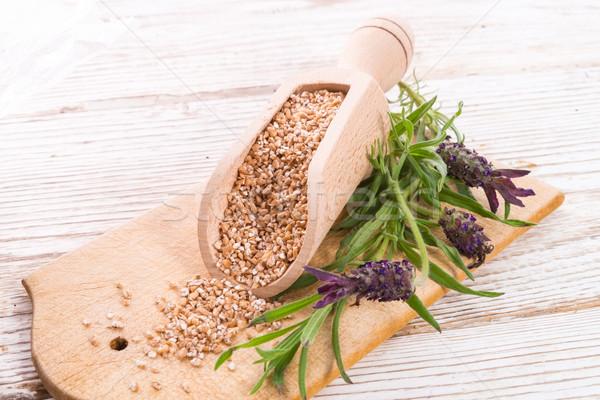 Wheat groats Stock photo © Dar1930