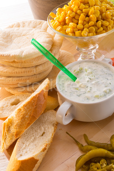 Tzatziki Stock photo © Dar1930
