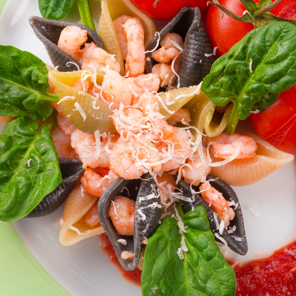 Сток-фото: север · морем · шпинат · продовольствие · ресторан · Салат