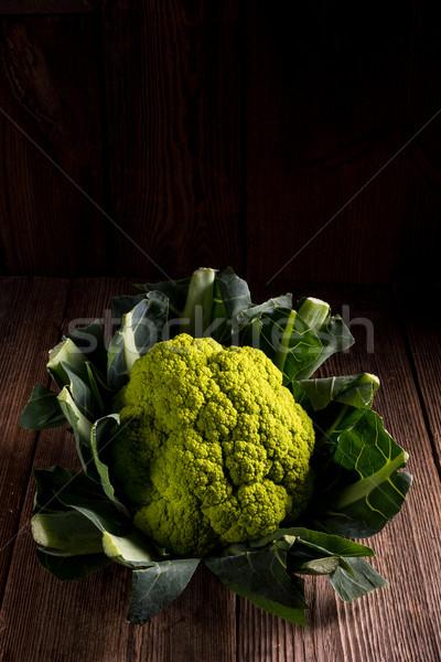 ストックフォト: 緑 · カリフラワー · 食品 · 自然 · レストラン · ディナー