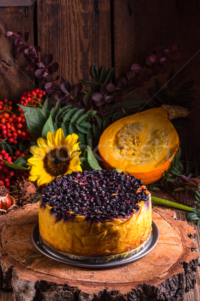 Сток-фото: лист · шоколадом · оранжевый · красный · осень · праздник