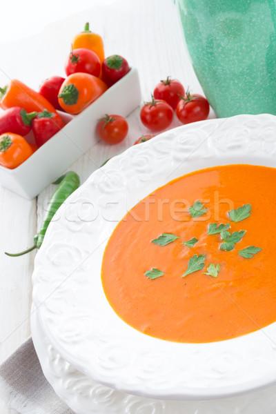 Paprika soup Stock photo © Dar1930